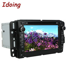 Idoing 2Din7inch Car Video DVD Player Fit GMC Yukon/Tahoe Android5.1 GPS Navigation Capacitive Touch Screen1.6GHz1G RAM QuadCore
