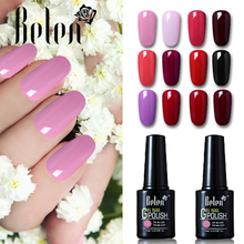Belen Soak off UV Nails Gels Color Polish Professional Gel nails polish Varnish DHL TNT Drop Shipping ALL 50 Colors(China)