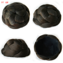 9CM New Clip in Bun Hair Chignon Bun Wig Hair Ponytail Drawstring Bun Hairpieces Pony Tail Hair Chignon A1