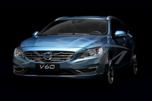 Diecast Car Model Volvo V60 1:18 (Blue) + SMALL GIFT!!!!!!!!!!!