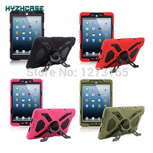 Tablet Case For iPad Mini 1 2 Pepkoo Spider Extreme Military Heavy Duty Waterproof Dust/Shock Proof With Stand Hang Cover Case