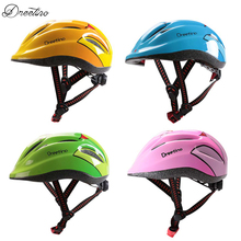 Dreetino Child Bike Helmet Ultralight Safety Bicycle  Kids Cartoon EPS Helmet Cycling Helmet Child Equipment 4 Color