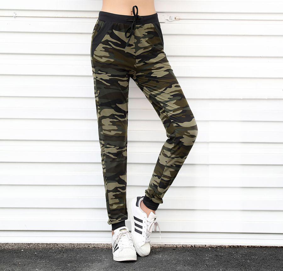 Women sweatpant Camouflage Jogger Pant