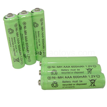 3 psc/lot remote control toy rechargeable Ni Cd rechargeable battery AAA 1.2V 600mAH Free Shipping(China)