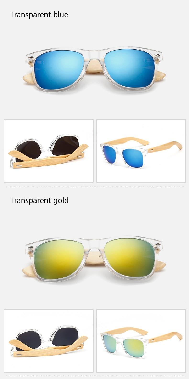 Ralferty Retro Wood Sunglasses Men Bamboo Sunglass Women Brand Design Sport Goggles Gold Mirror Sun Glasses Shades lunette oculo 14