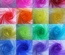 "Sheer Organdy Fabric for Wedding ,Cloth,Party Decoration 150cm 59"" Width 30 Meter"