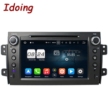 "Idoing 8"" 2 Din Android6.0 8Core 2G+32G Steering-Wheel For Suzuki SX4 Car GPS DVD Player GPS Navigation TV WIFI Radio Fast Boot"