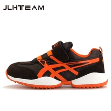 2017 New children shoes High quality Brand sports shoes boys girls genuine leather outdoor shoes kids breathable running shoes