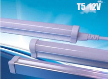 T5 LED Tube Light 12V 8W 9W Explosion-proof Energy-saving LED Fluorescent Lamp 60cm 600mm 2ft 3014SMD T5 lamp 2PCS/LOT(China)