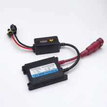 55W HID ballast 12V Slim HID Xenon Ballast blocks ignition replacement for xenon hid kit H4 H7 H11 HB4 HB3 Xenon ballast 55w 2pc