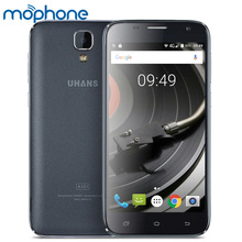 UHANS A101 Smartphone 4G MTK6737 1.25GHz Quad Core 5.0 Inches HD 1280*720 IPS 1G+8G 5MP+8MP Camera 2450mAh WiFi Mobile Phone