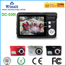 "Freeshipping Cheap Camera DC-530I Max 18MP Shooting 8x Digital Zoom Compact Camera 2.7"" LCD Screen Fixed Focus Video Recorder"