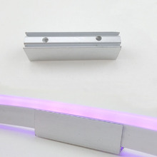 Aluminum Wall Mount Clips for 220V LED Flex Neon Light Strip Acessory Outdoor Bridge Age Deco Warm Cold white Red Blue Green RGB