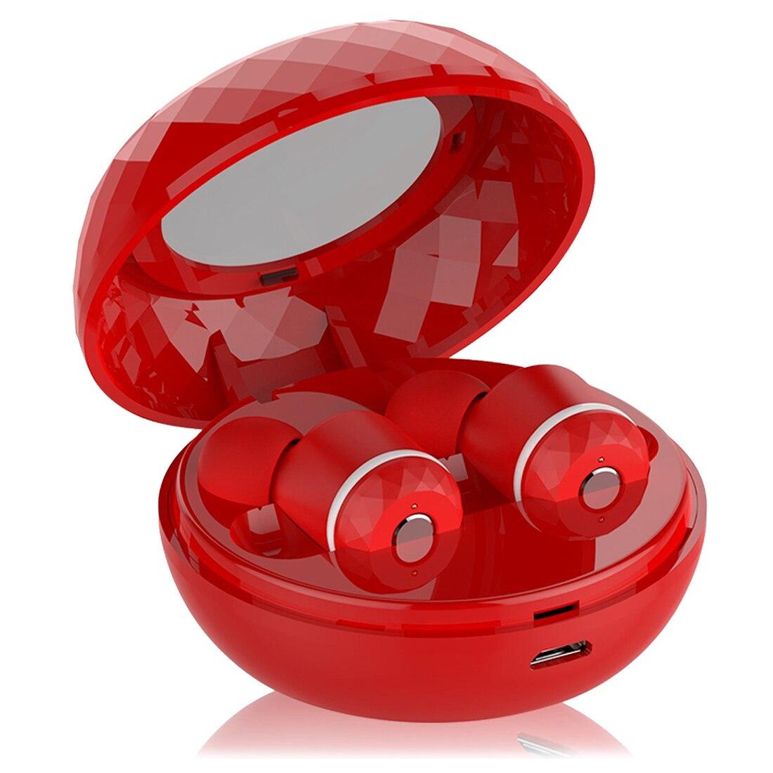 Wireless Earbuds, True Wireless Stereo Bluetooth V4.1 Headphones with Charging Case &amp; Noise Earphones Sweatproof In-Ear Headset<br>