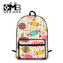 Cute candy printing school bookbags for girls college students Illustration backpack childrens 3D animal back pack for teenager