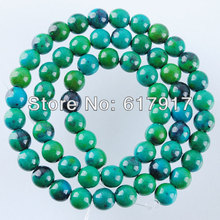 Free shipping Synthetic Chrysocolla Ja-sper Gem stone Gem Round Spacer 6MM Loose Beads 15.5Inches Strand TG963(China)