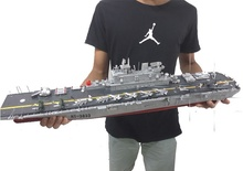 2.4G 1:350 Radio remote control large rc boat  US. Wasp-class amphibious assault ship model toys