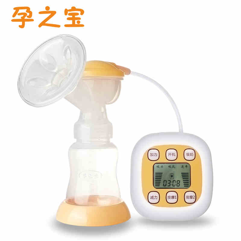 china brand  USB electric digital breast pumps BPA Free Smart Inverter Breast feeding Breast milk suckers with Display yz-10<br>