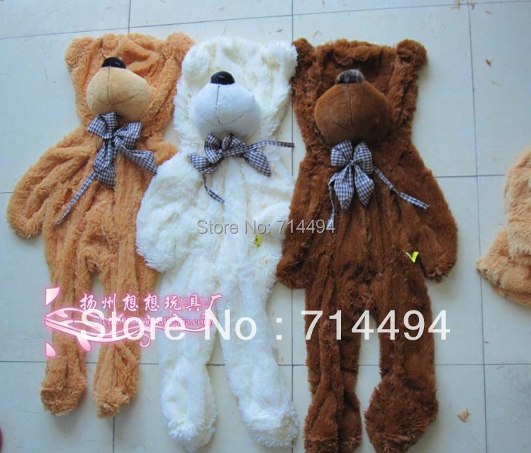 140cm three colors big teddy bear skin coat stuffed toys plush toy baby toy  birthday gifts Christmas gifts<br><br>Aliexpress