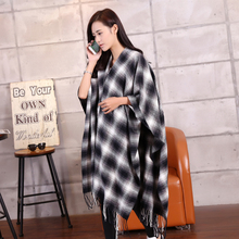 New 2015 Women Winter Mohair Scarf Long Size Warm Fashion Scarves & Wraps For Lady Casual Patchwork Accessories
