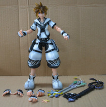 Original PVC Figure Sora Kingdom Hearts (Black & White Ver.) Model Kit