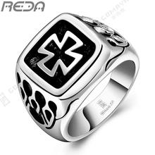 hot sale Punk Unique  Antique Totem Retro cross man's  tungsten rings. fingernail rings