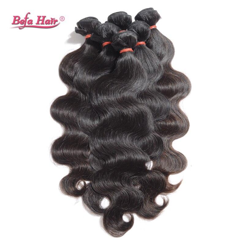 3pcs/lot Hot Selling Soft Body Wave Virgin Malaysian Hair Grade 7A Natural Black Human Hair Weaves Befa Hair Free Shipping<br><br>Aliexpress