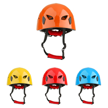 High Quality Safety Climbing Helmet Kayak Rappel Rescue Protector Hard Hat Helmet Outdoor Camping Hiking Climbing Accessory