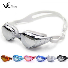 Swimming goggles professional PC plating anti-fog UV arena swimming goggles women swim goggles eyewear adults pool accessories