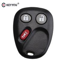 KEYYOU Remote Entry Keyless Key Shell Case Fob For GM For Buick For Chevrolet 3 Buttons(China)
