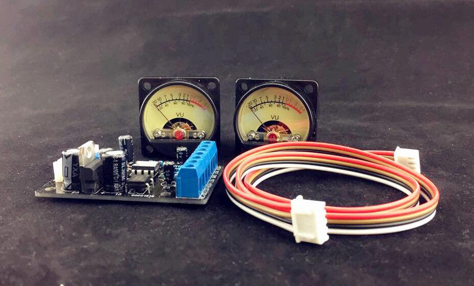 Audio power Amplifier Panel VU meter DB level LED Header+driver board Module DIY<br><br>Aliexpress