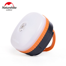 Naturehike Outdoor Portable Camping Light LED Flashlight Lamp Battery Supply And USB Chargable Emergency Light Tent Lantern