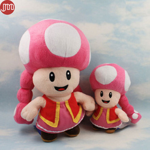 New Super Mario Bros Toadette Peluche Plush Toad Fungo Kart Mushroom Party Kinopiko Peach Approx 17cm 27cm