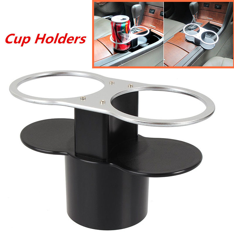 Mayitr Universal Car Seat Seam Wedge Dual Cup Drink Holder Travel ...