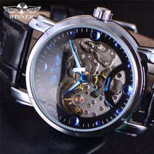Buy Winner Top Brand Luxury Mens Wrist Watch Men Military Sport Clock Male Business Army Skeleton Automatic Mechanical Watches Box for $16.26 in AliExpress store