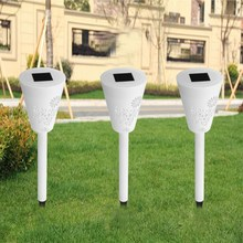 7 Color Changing 3Pcs Butterfly Solar Power Light Contorl RGB LED Lawn Light Outdoor Landscape Saves Energy LED Garden Lamp(China)