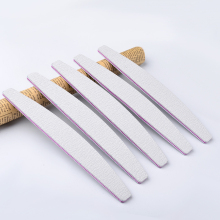5 Pcs/set Moon Shape Grey Nail File Buffer Sanding Nail Tools 100/180 DIY Salon Nail Tips Manicure Pedicure Supplies Kit(China)