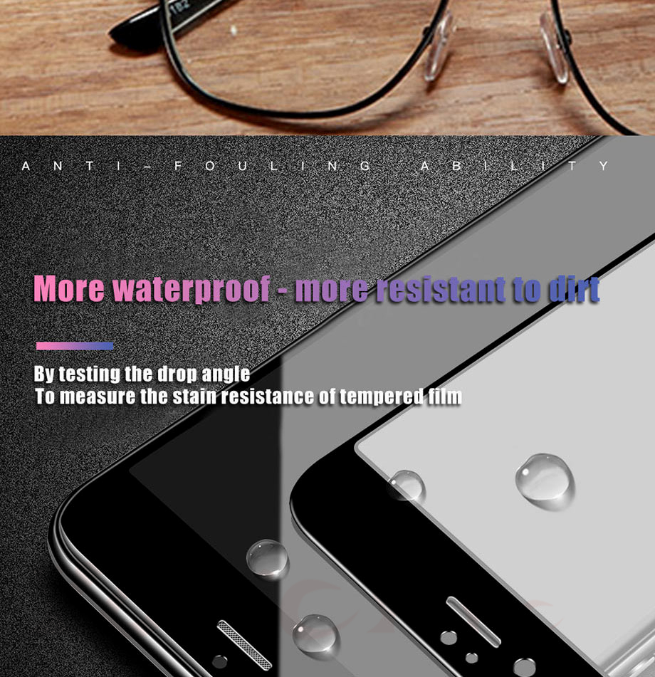 12 For iPhone 5 5s SE Glass For iPhone 6 6s Glass For iPhone X 10 Glass For iPhone 7 7 Plus glass for iphone 8 8 plus glass on the for iphone 7 6 8 5s Protective glass on the iphone 7 6 5s 8 (2)
