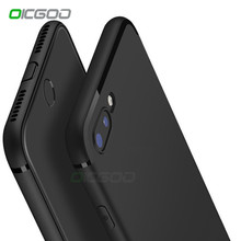 OICGOO Soft Matte Silicone TPU Case For iPhone 8 8 Plus 7 6 6s Plus Back Full Cover For iphone X 10 7 8 6 6s 5 5s SE Phone Cases(China)