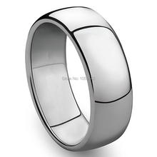 3mm to 8mm 316L Stainless Steel Shiny Polished Ring Comfort Fit Men Women Wedding Engagement Band Sizes 5 to 15(China)
