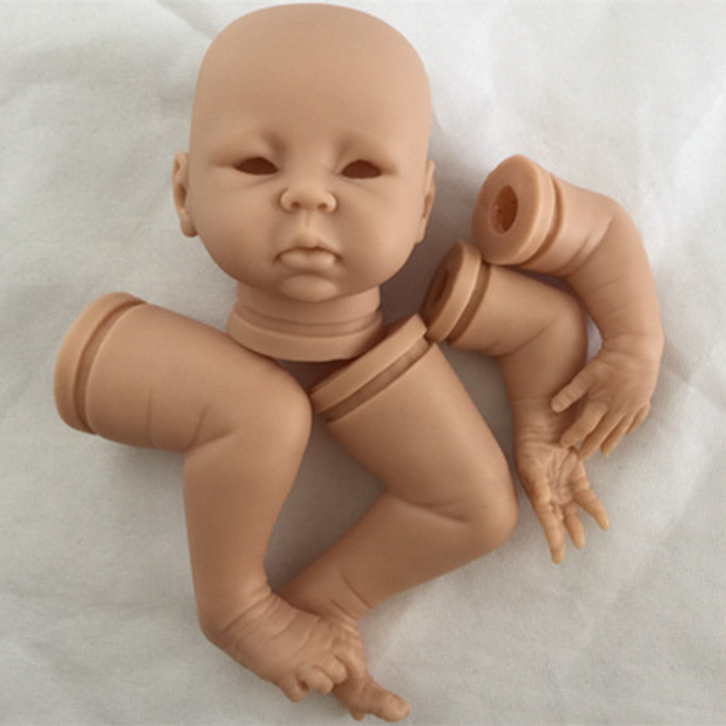 Reborn Doll Kits for 18inches Soft Vinyl Reborn Baby Dolls Accessories for DIY Realistic Toys for DIY Reborn Dolls Kits dk-83<br>