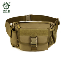 High Quality New Camo Water Repellent Fanny Pack Big Waist Belt Bag Men Travel Wallet Hip Pouch Casual Pillow Waist Packs