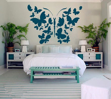Wall Stickers Butterfly Decal Vinyl Wall Stickers Home Decor Bedroom Dorm Living Room Interior Design Kitchen Art Murals
