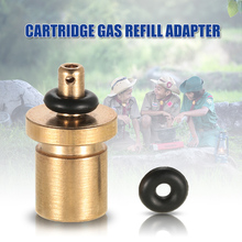Cartridge Gas Refill Adapter for Outdoor Camping Stove Gas Cylinder Gas Tank Gas Burner Accessories for Inflate Butane Canister