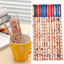 Low Price 12 Pcs Standard Pencils Cartoon HB Pencils For Drawing Lapices(China)