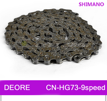 SHIMANO DEORE MTB Mountain Bike HG73-9 9 Speed 116 Link Bicycle Chain Durable Use Stretch Protection - Positive bike Store store
