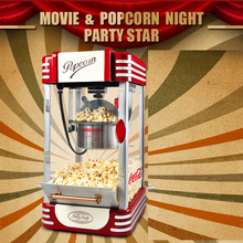 111 DHL/Fedex/EMS FREE Shipping! Super Retro Commercial Popcorn Machine Pipoca Pop Corn Making Machine 220V&CE/GS Certification(China)