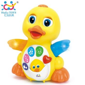 HUILE TOYS 808 Bébé Jouets EQ Battement Jaune Infantile De Canard Brinquedos Bebe Électrique Universel Jouet Pour Enfants Enfants 1-3 ans vieux