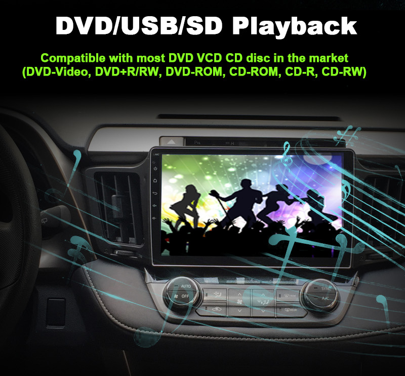6 DVD USB SD