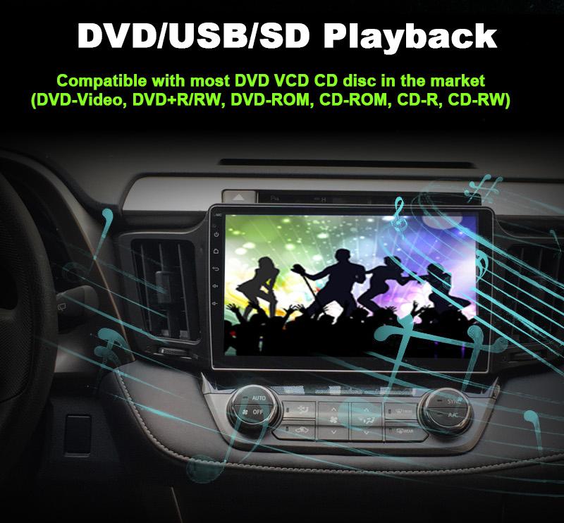 6 DVD USB SD